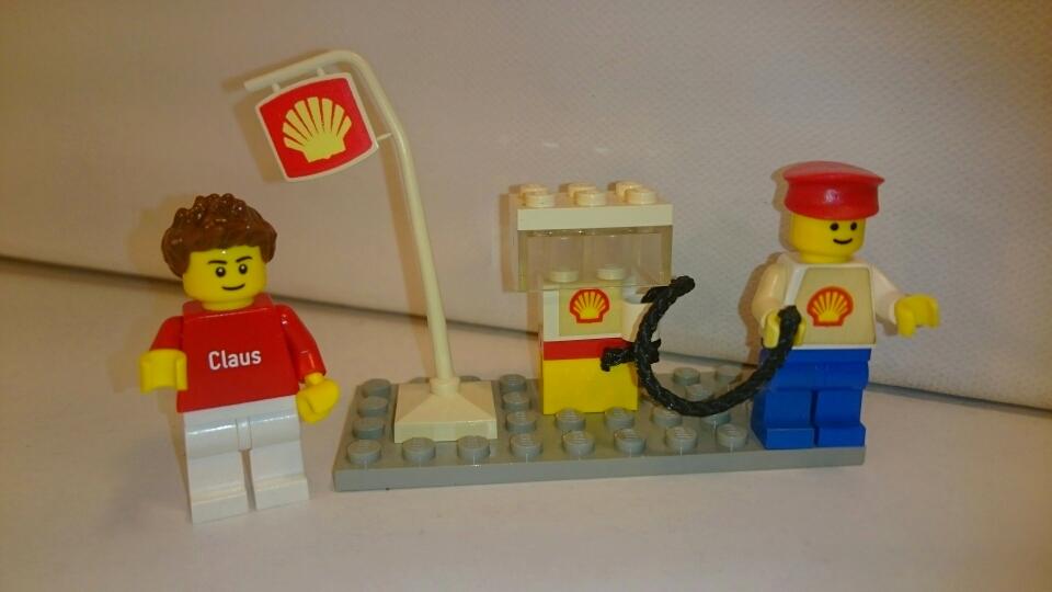 601 - Shell Tankstelle mit Tankwart