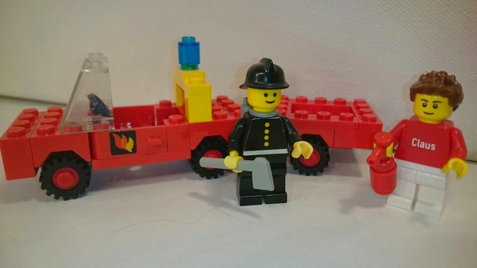 640 - Feuerwehr mit Anhänger