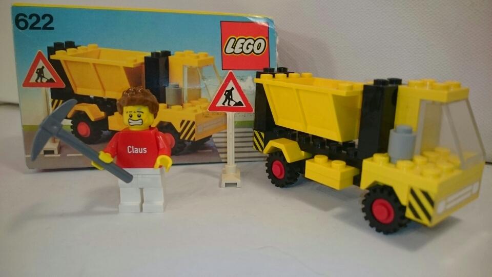 622 - LKW mit Seitenkipper