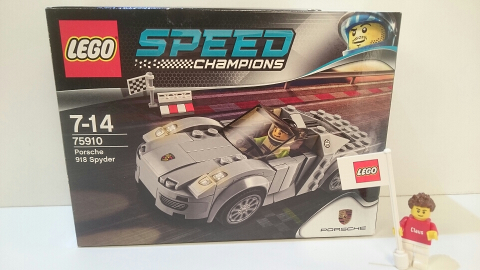 75910 - Porsche 918 Spyder