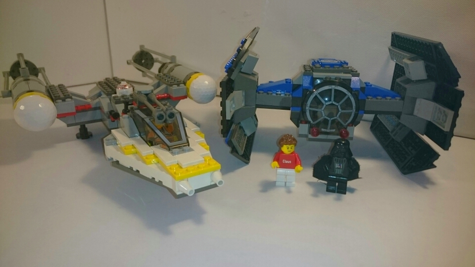 7150 - TIE Fighter & Y-wing