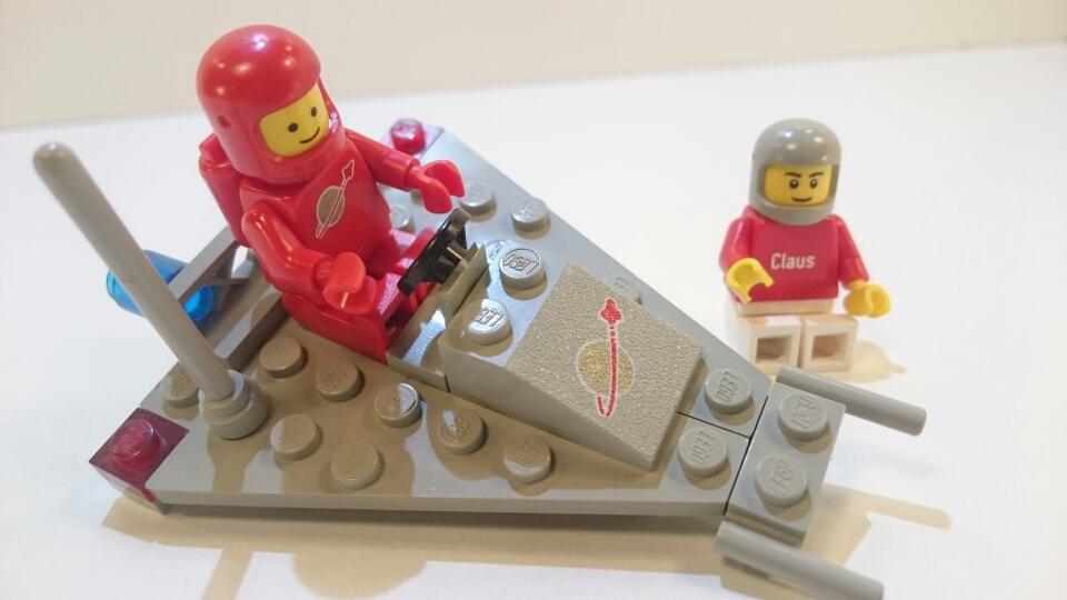885 - Raumgleiter mit Astronaut