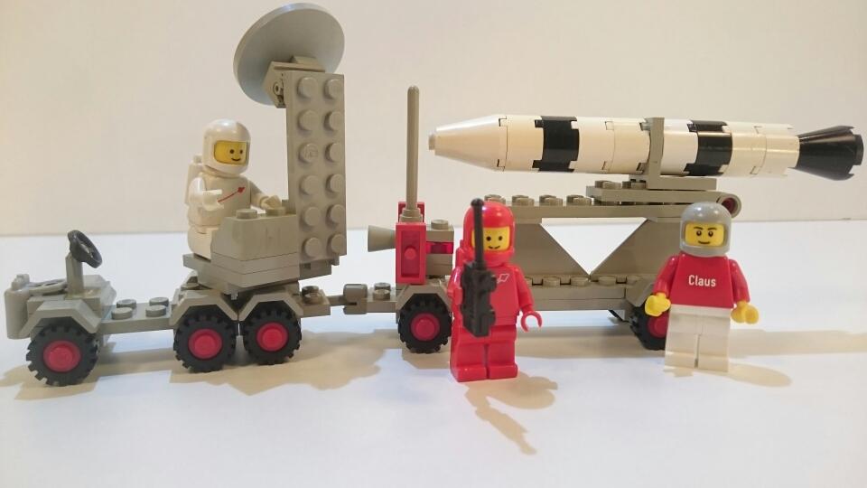 462 bzw. 897 - Mobile Raketen-Abschussrampe