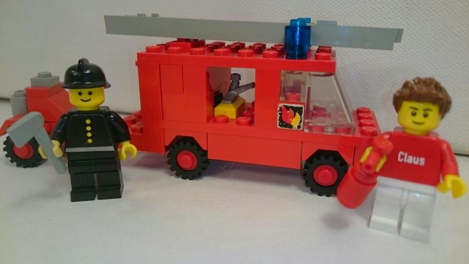 672 - Feuerwehr mit Löschgerät