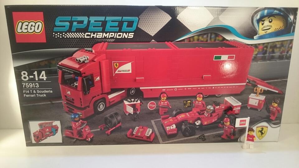 75913 - F14 T & Scuderia Ferrari Truck