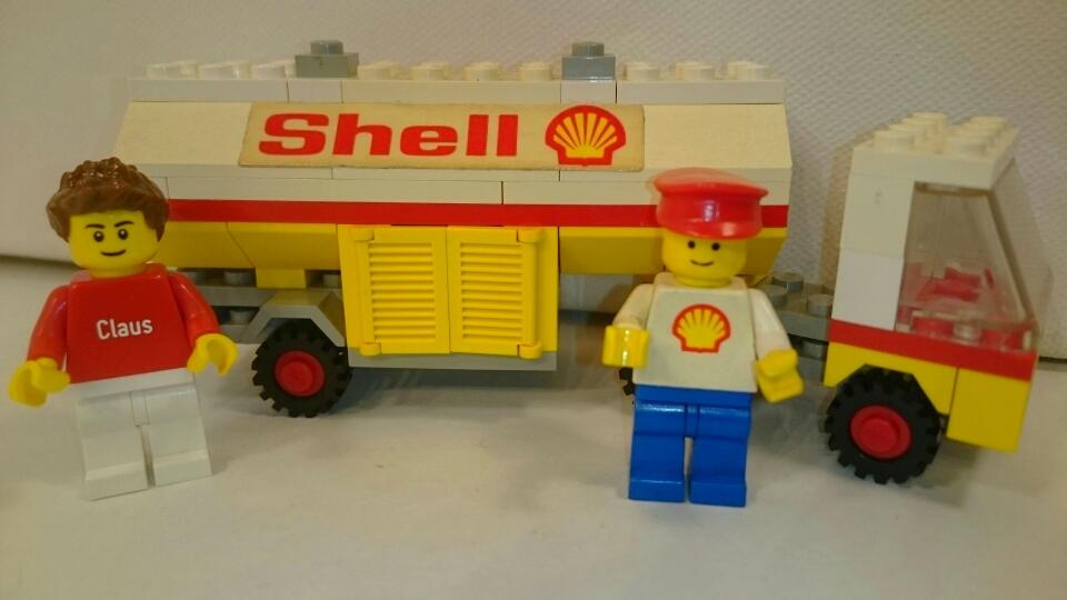 671 - Shell Tanklastzug mit Fahrer