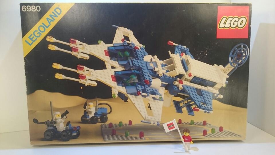 6980 - Interplanetarisches Raumschiff (ungeöffnet)