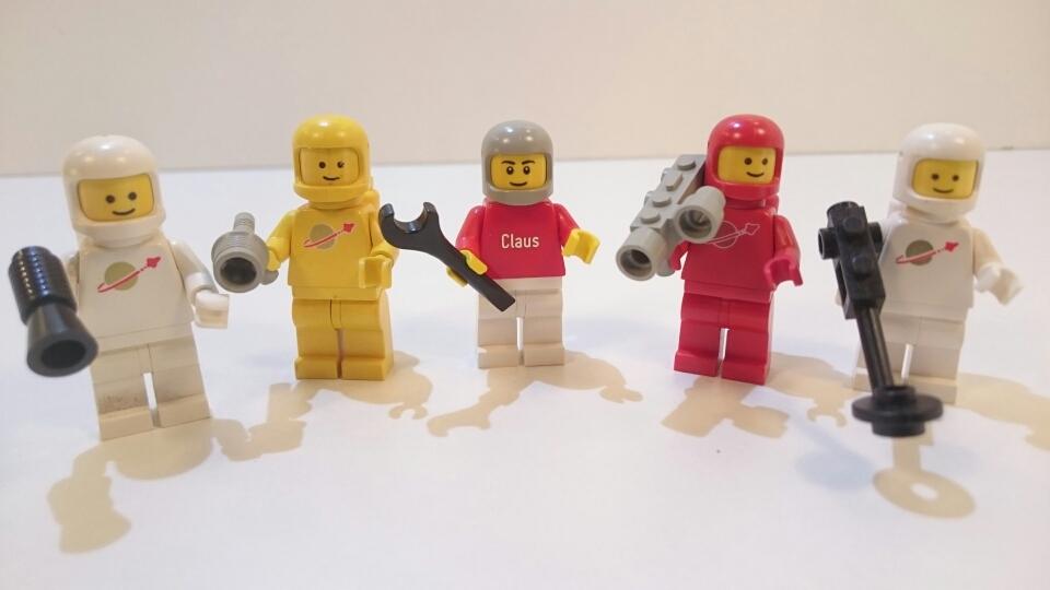 6711 - Weltraumfiguren