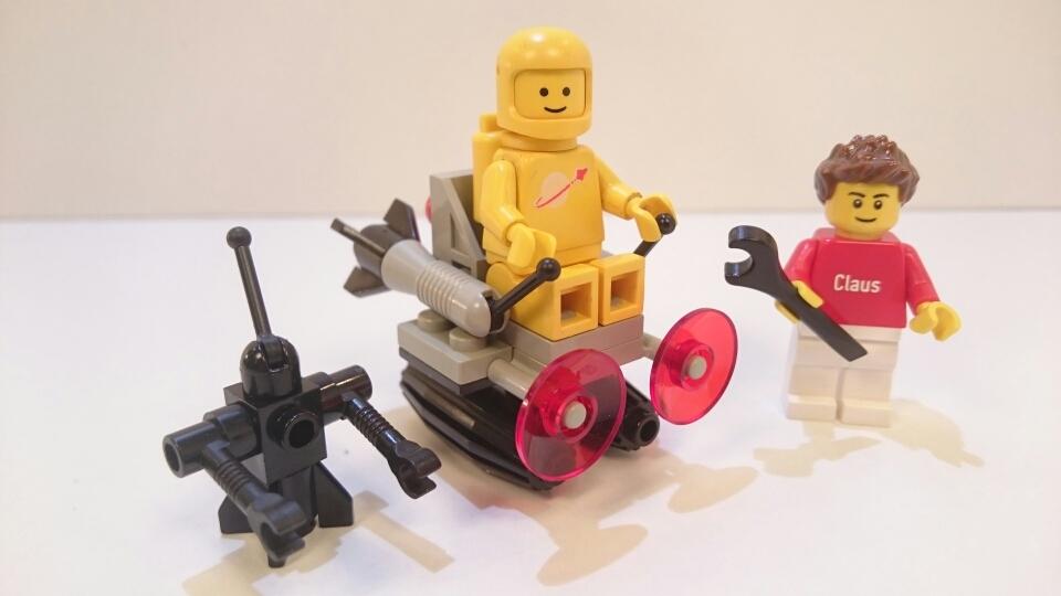 6807 - Raumgleiter mit Roboter