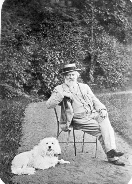 Theodor Leschetizky in seinem Sommerdomizil Bad Ischl