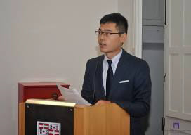 Speech by Xi Zhaoyang at the recognition ceremony for MAOG-2014, Malta