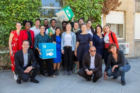 Malta: Climate Youth Ambassadors, S Borg (2nd R), A Vassallo (1st R)