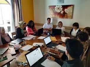 Alumni representatives during the meeting. Photo Credit: IOI HQ