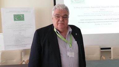IOI CYPRUS FP: Prof. Nicholas Kathijotes, Director of the IOI Cyprus Focal Point was invited to give a plenary presentation titled 'A Blue Economy Approach Towards Clean and Sustainable Seas' at the EEEP 2019 in Burgas, Bulgaria