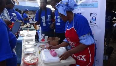 "IOI WESTERN AFRICA (Nigeria): Community cooking competition using ""Food from the Sea'' was also organised at the Community level"
