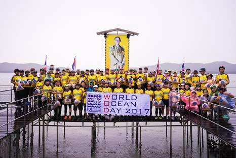 IOI THAILAND: A 27.5 km cycling campaign for marine resource conservation and protection