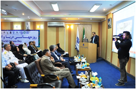 IOI IR IRAN: Opening of the Ceremony by Dr. Nasser Hadjizadeh Zaker, Director of Iranian National Institute for Oceanography and Atmospheric Science and IOI-IR Iran