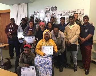 IOI SOUTH AFRICA: WWF-SA, TETA and IOI SA Small Scale Responsible Fisheries Training event in Struisbaai, Western Cape - Training event participants
