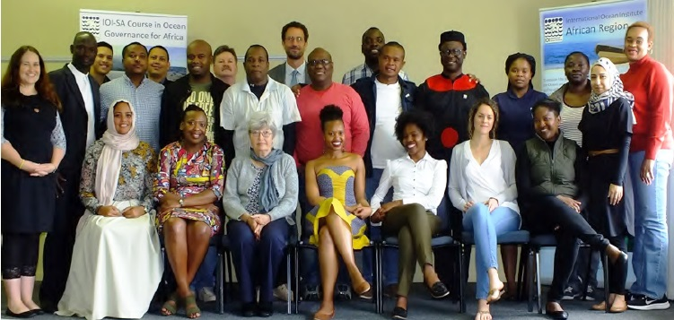 The 2017 Course Participants and IOI-SA Team. Photo credit: IOI SA