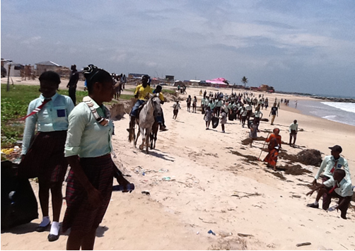 IOI WESTERN AFRICA (NIGERIA): Preventing Marine Debris: recycle; voluntary land and coastal cleanups