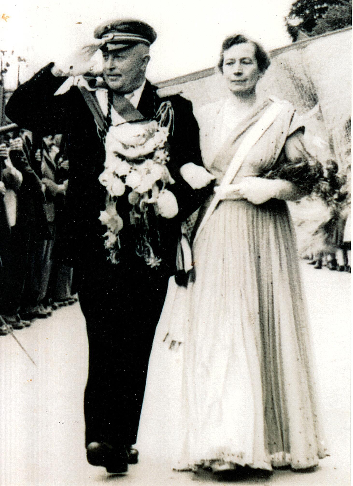 1951 Wilhelm Berghoff+ & Maria Romberg+