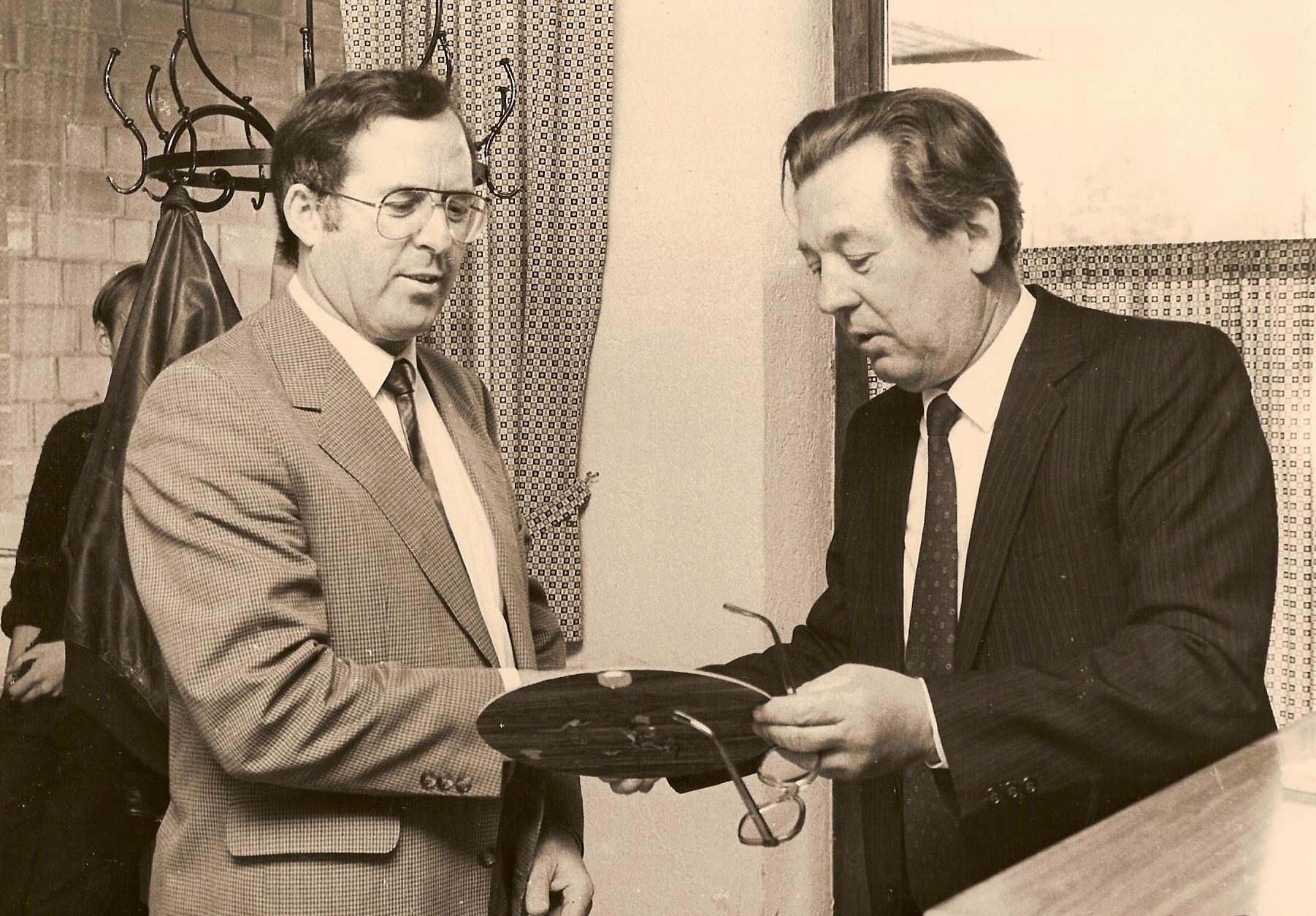 Hubert Tüllmann und Erwin Mersmann