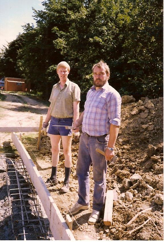 Dietmar Westerwelle und Günther Schulte