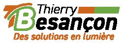 Logo Thierry Besançon-Des solutions en lumière