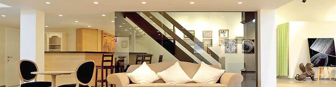 Éclairage au plafond par spot LED encastrable A chacun une solution d'éclairage adaptée.