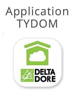 Logo DELTA DORE relatif à l'application domotique TYDOM