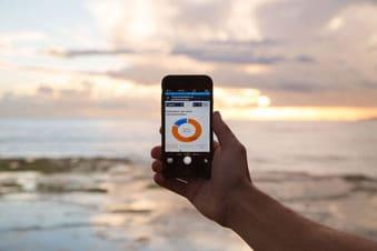 Gestion du chauffage grâce à une application téléchargée sur smartphone