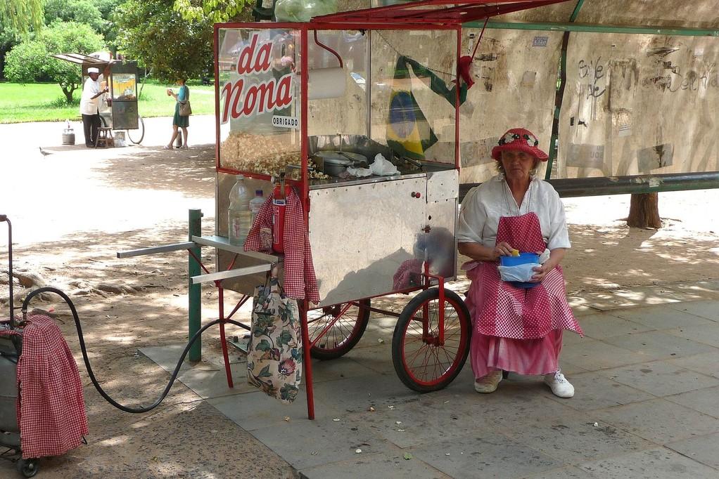 Porto Alegre, la nonna