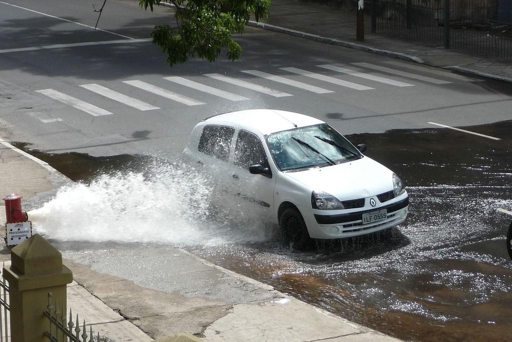 Porto Alegre, autolavaggio