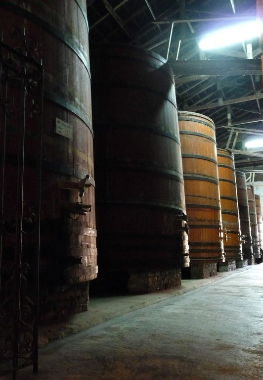 Rio Grande do Sul, Bento Gonsalves, vecchie cantine Salton