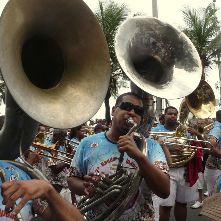 Rio, trombette e tromboni