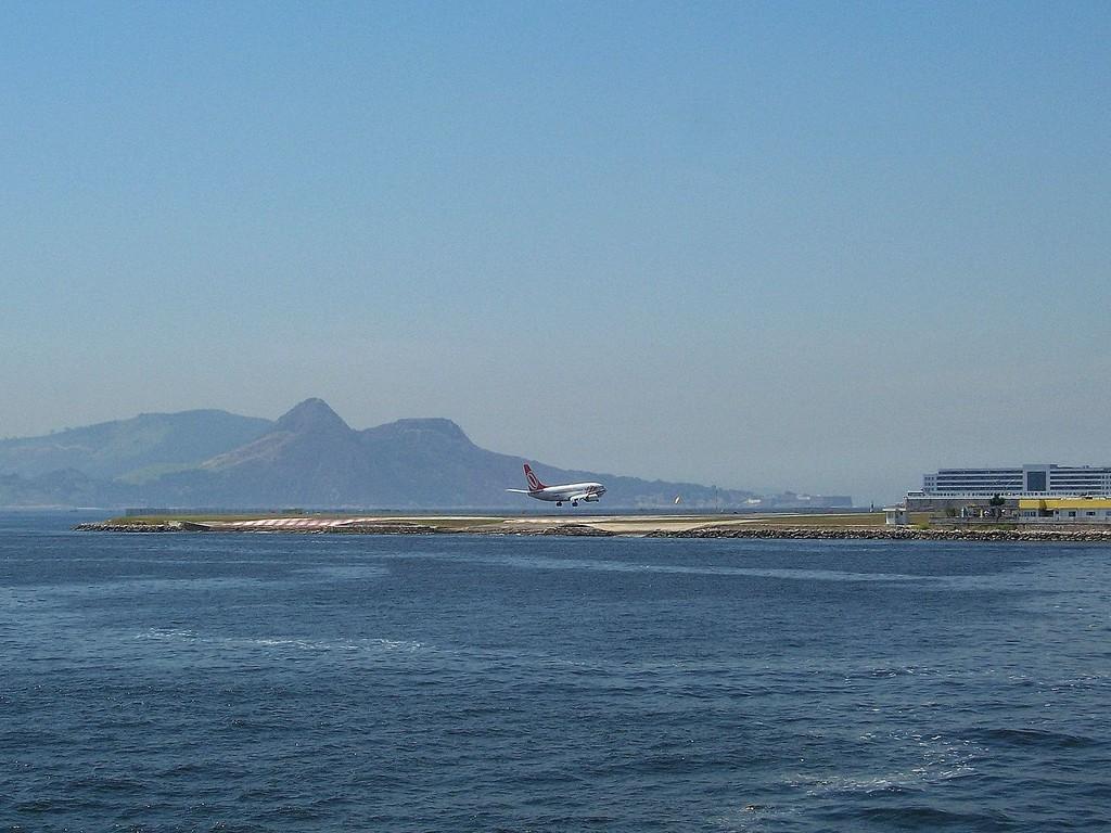 Rio, aeroporto Santos Dumont