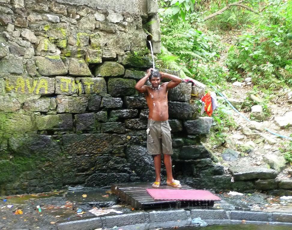 Rio, bagno pubblico