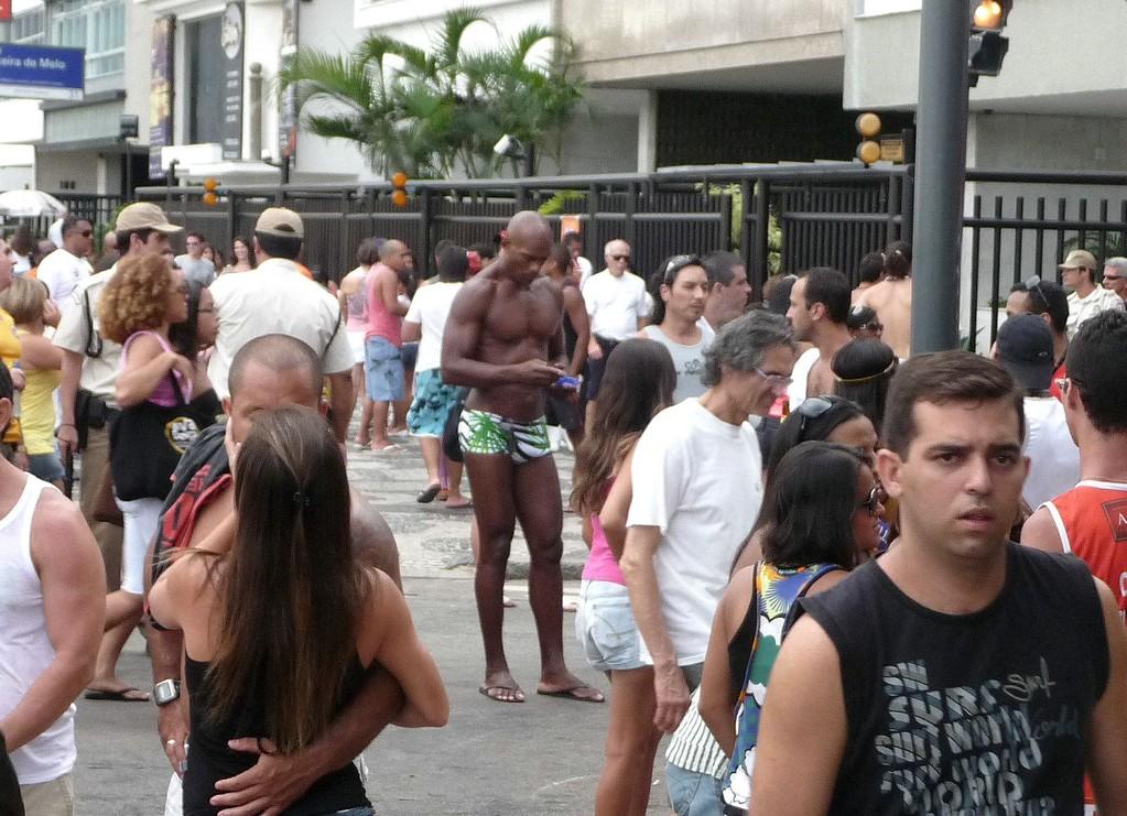 Rio, distratto