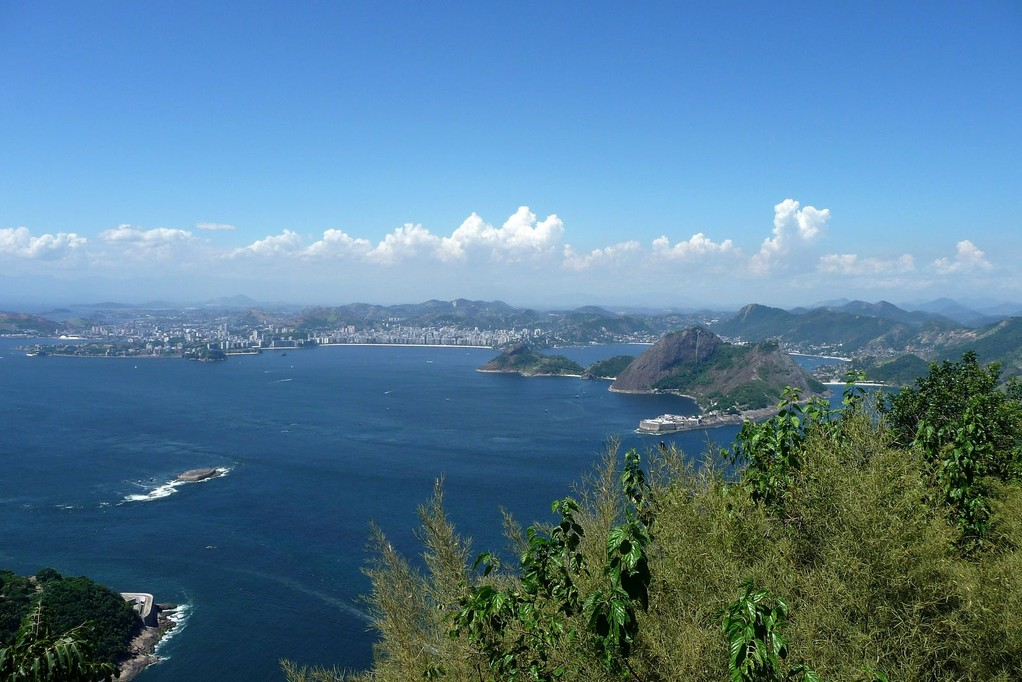 Rio, baia de Guanabara