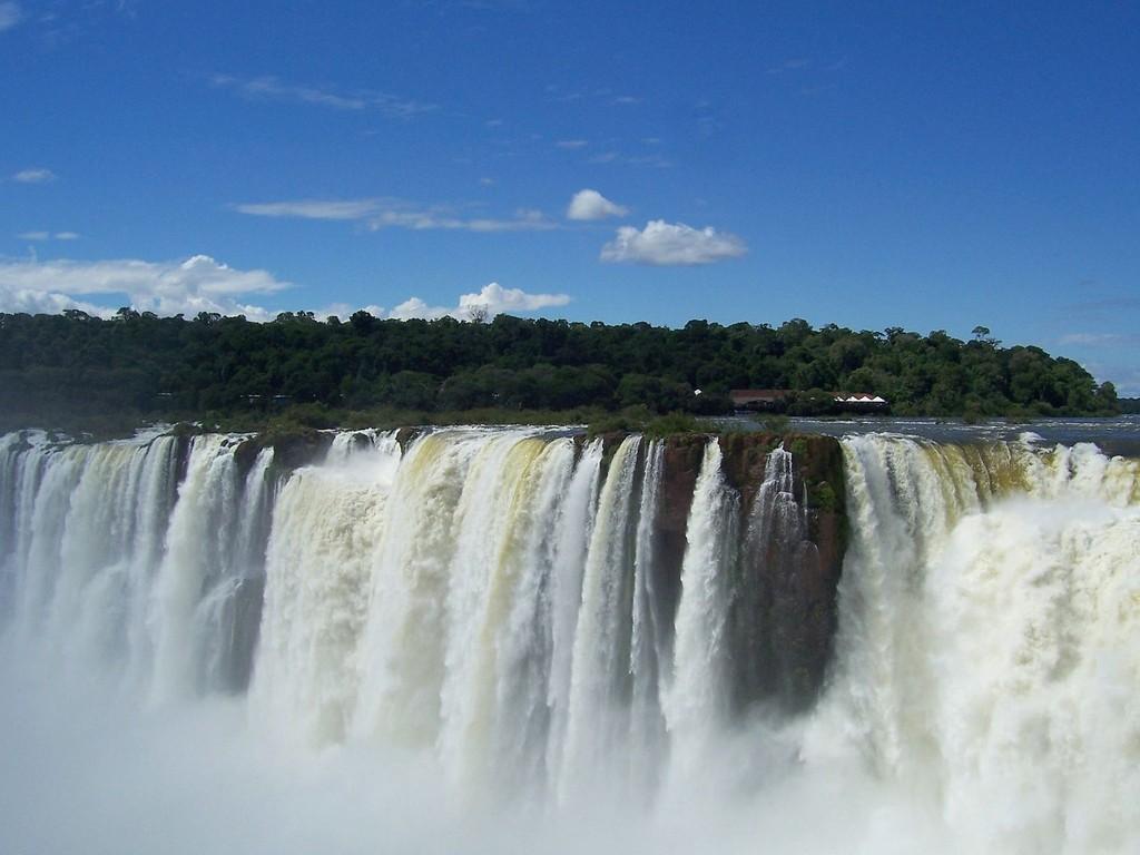 Cascate di Iguassú lato brasiliano