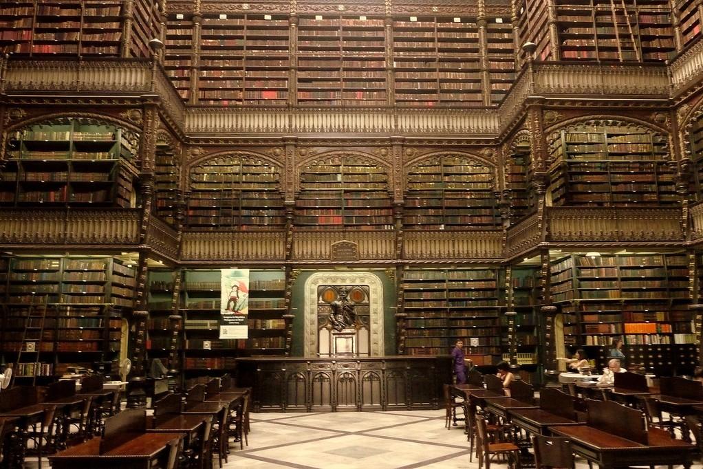 Rio, biblioteca nazionale
