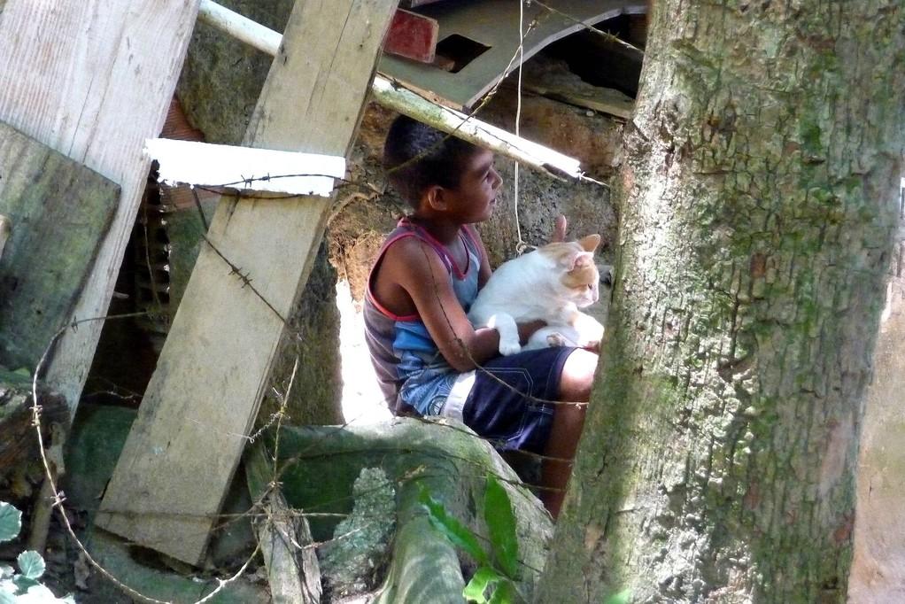 Rio, menino de favela