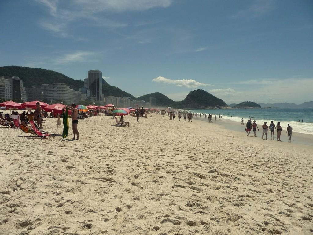 Rio, spiaggia di Copacabana