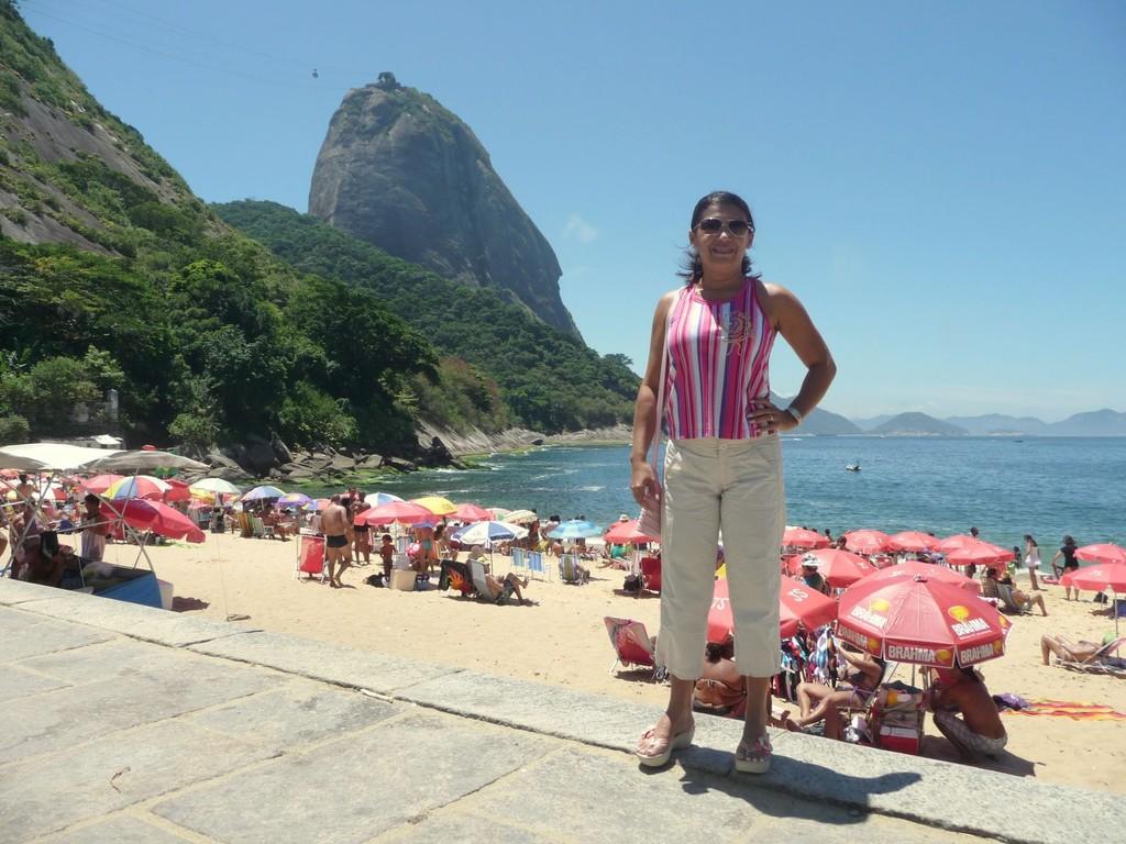 Rio, spiaggia Vermelha