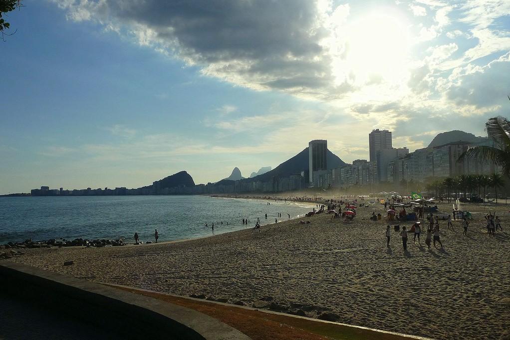Rio, praia do Leme e Copacabana