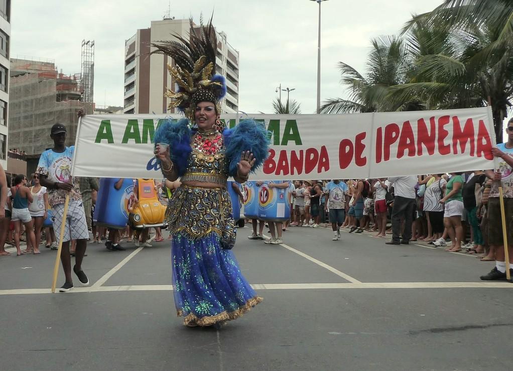Rio, sfilata del bloco de Ipanema