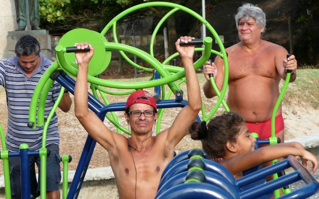 Rio, fitness municipale