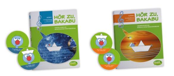 """""""Hör zu, Bakabu"""" - Album 1& 2"""