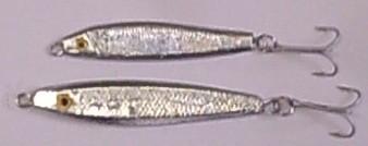 plombs de peche LE TARPON : cuiller sardine