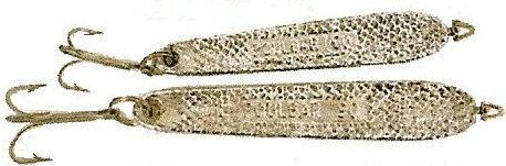 fabricant plombs de peche LE TARPON : cuiller ondulante chromée POULBAR